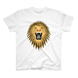 百獣の王(カラー) T-shirts