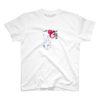 リンゴ T-shirts