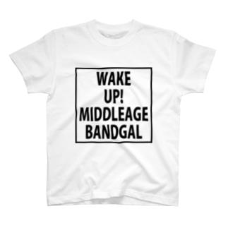 90年代ヴィジュアル系インスパイアグッズ・・・目覚めよ! 親愛なるオバンギャども!! T-shirts