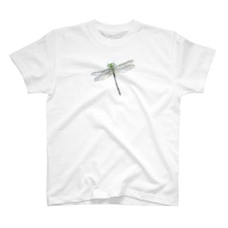 オニヤンマ 色鉛筆画 T-shirts
