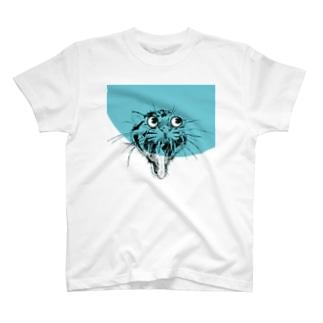 ウンピョウ T-shirts