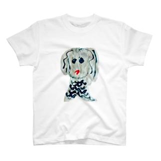 だるまキャットのアマビエちゃんよ! T-Shirt