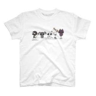 こころいきもの T-shirts