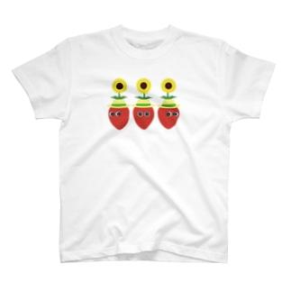 夏いちご3 T-shirts