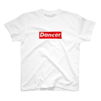 Dancer ダンサー  ボックスロゴ  T-shirts