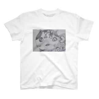 かぐやネコ T-shirts