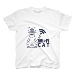 WieFi CAT(ウィーフィーキャット)  T-shirts