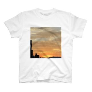 あの日の夕日 T-shirts