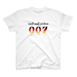 ぬるぬるズィーベン 007 null null sieben T-shirts
