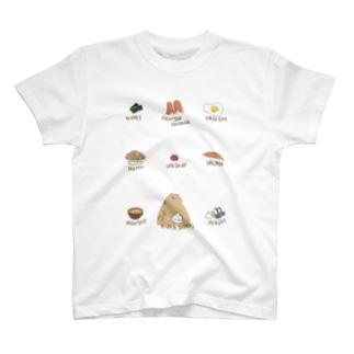 クマ・サピエンス T-shirts