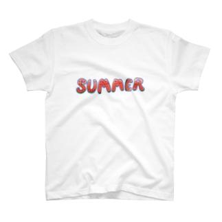 夏とスイカを同時に主張したい人向け T-shirts