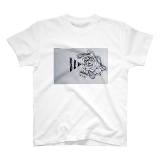 rose_001 T-shirts