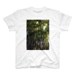 竹 T-shirts