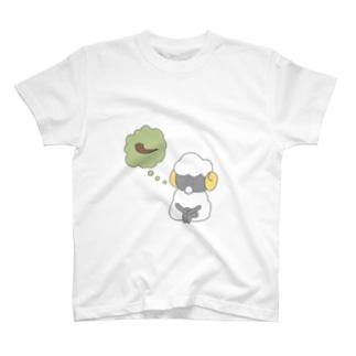 禁煙するひつじ T-shirts