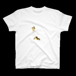 ANInomaMALのオシドリの巣立ち T-shirts