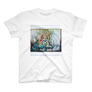 文明ロボットシリーズ T-shirts