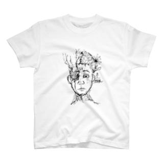 邪我神Tシャツ T-shirts