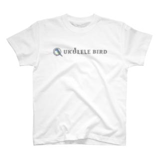 UKULELEBIRDのウクレレバード公式グッズ(ワイドロゴ) T-Shirt