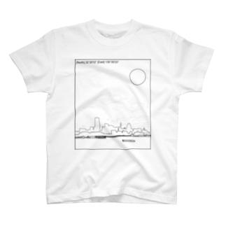 横浜 YOKOHAMA CITY T T-shirts