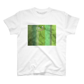 かえる先輩 T-shirts