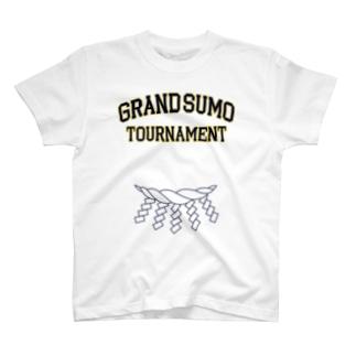 綱カレッジロゴ 紺 T-shirts