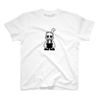 骨うさぎ T-shirts