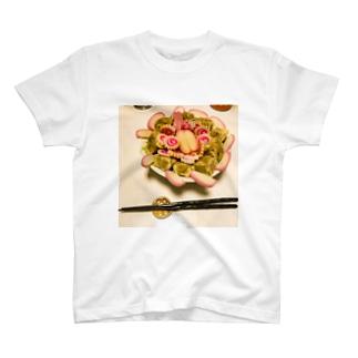 圧倒的冷やし中華photo  T-shirts