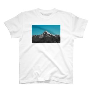 Highest Peak プリントT T-Shirt