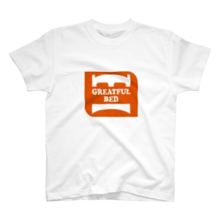 GREATFUL BED Tシャツ T-shirts