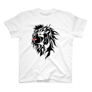 ライオンタトゥのおしゃれグッズ T-shirts
