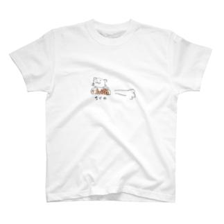 ちくわフライトねこ T-shirts