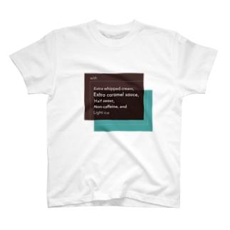 スタバでスマートにカスタムできるTシャツ T-shirts