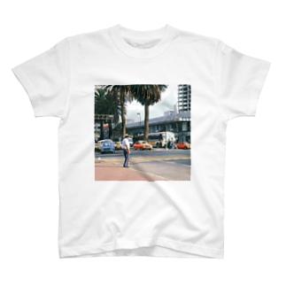 FUCHSGOLDのメキシコ:メキシコシティの風景写真 Mexico: view of Mexico City T-shirts
