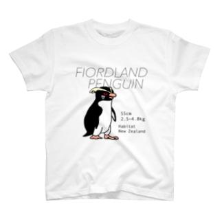 フィヨルドランドペンギン T-shirts