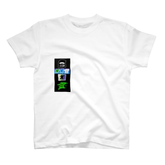 ID STICKER T-Shirt Green Tシャツ