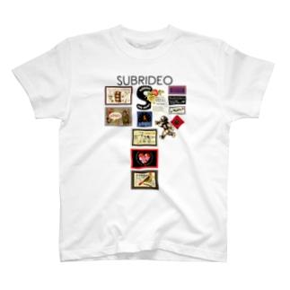 S大文字とテディベア T-shirts