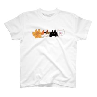ねこがみてる! T-shirts