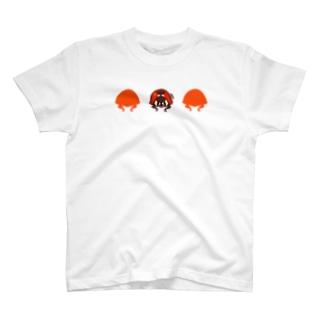 ナナホシテントウ【LOVE BUGS!】 T-shirts