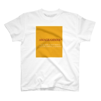 AMAGRAMMER? T-shirts