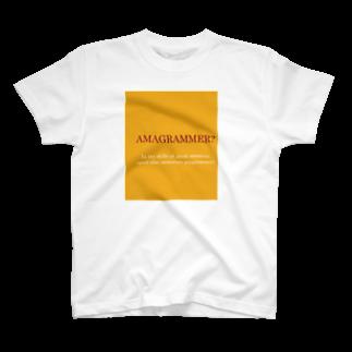 アシベズヘアのAMAGRAMMER? T-shirts