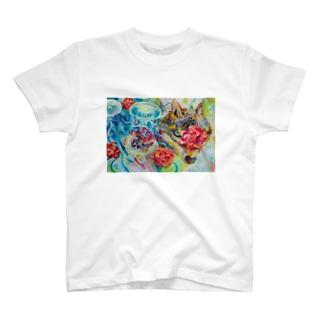 浮上 T-shirts