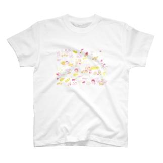 わちゃわちゃ T-shirts