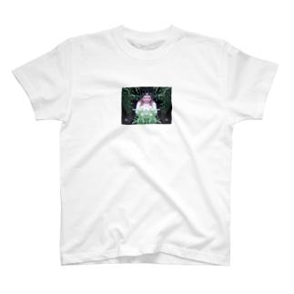 オオツキカエデの森の左右対称 T-shirts