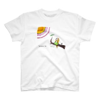 太陽ガアルカラ Tシャツ T-shirts