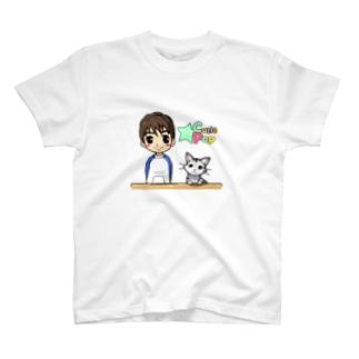 まーちゃんとユキの仲良しグッズ★(無地トレーナー&ロゴ入りver.) T-shirts
