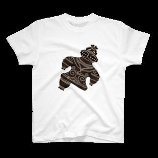 Second Wildlifeの遮光器土偶ナナメ2 T-shirts