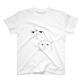 ねことわたし T-shirts