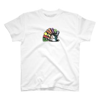 お座りfishing君 T-Shirt