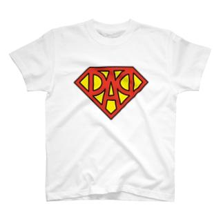 フォーヴァのスーパーDAD T-shirts