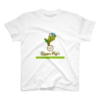 オープンアグリ T-shirts